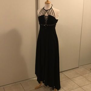 Free People Black Maxi Dress